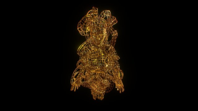 Mother energy Wire 3D Model