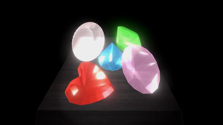 Gems 3D Model