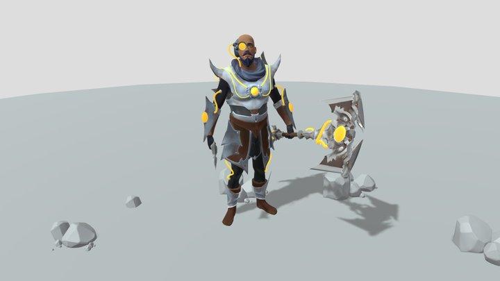 Stasis Armour 3D Model