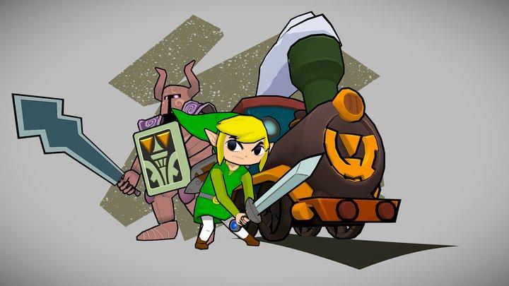The Legend of Zelda - Spirit Tracks 3D Model
