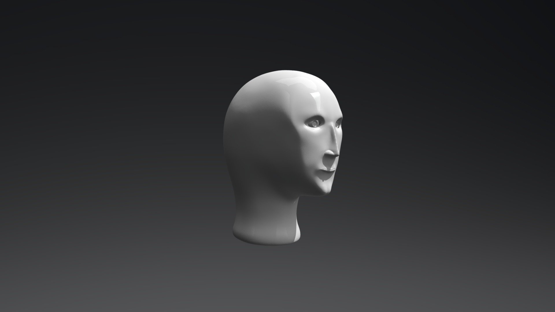 meme head 3d succ mr fresh models templates sketchfab special wurds