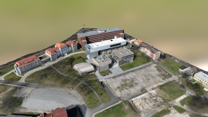 J. E. Purkyne University campus 3D Model