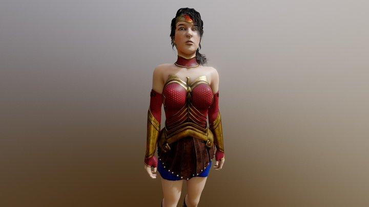 Liza 3D Model