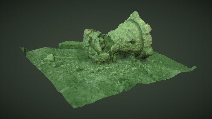 Robert Kerr wreck - capstan 3D Model