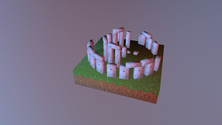 Atividade Stonehenge 3D Model