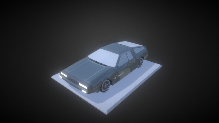 DMС12 - DeLorean Free Download 3D Model