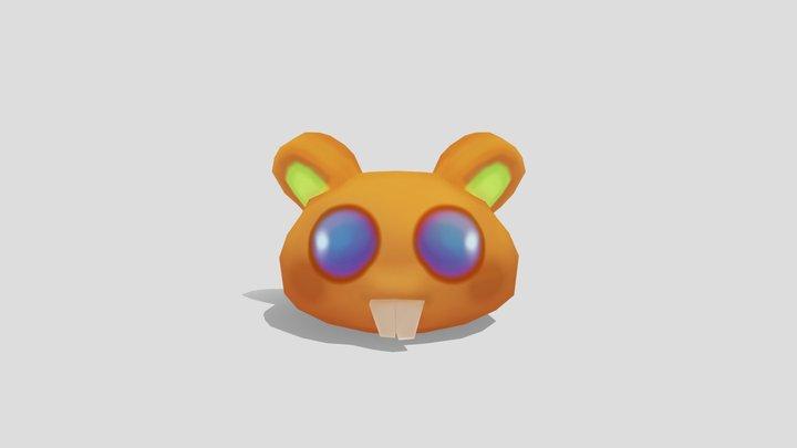 Jelly Beams - Hamster 3D Model