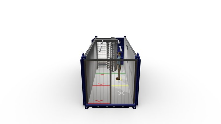 MSSI 20 FOOT Safety-T-Check 3D Model