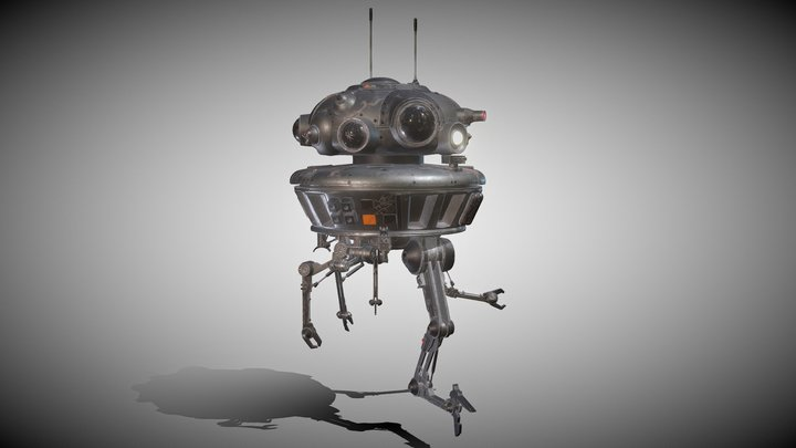 Arakyd Viper Probe Droid 3D Model
