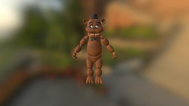 Freddy-fazzbear 3D Model