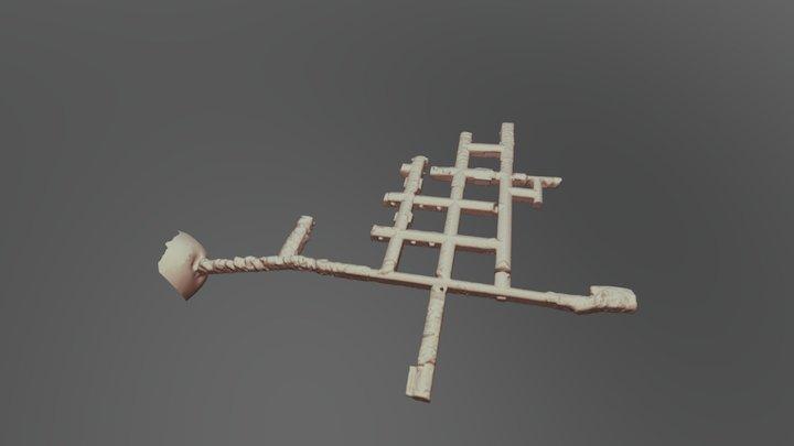 Luftschutzbunker 3D Model