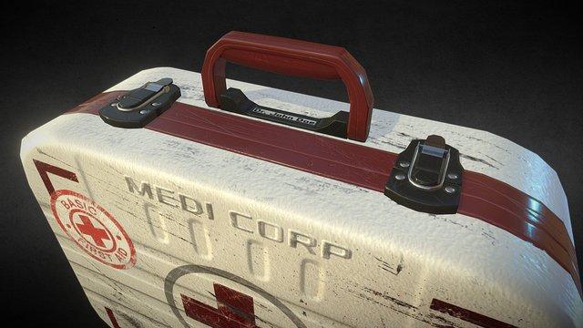 PBR Medic Case 3D Model