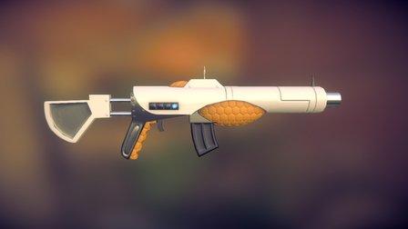 PeopleGun Rifle 3D Model