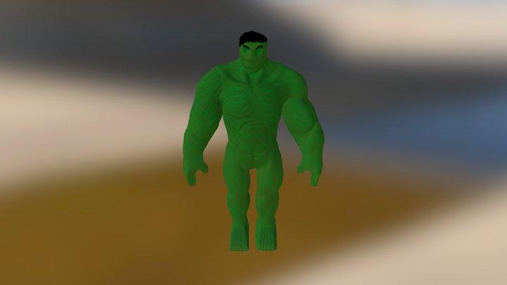 Hulk3d 3D Model