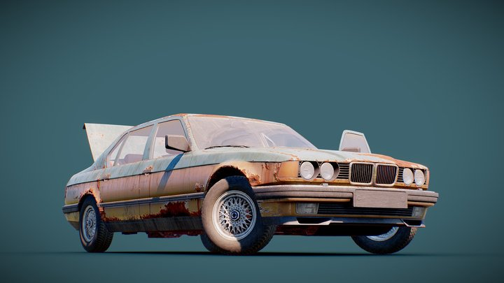 Classic Sedan 3D Model