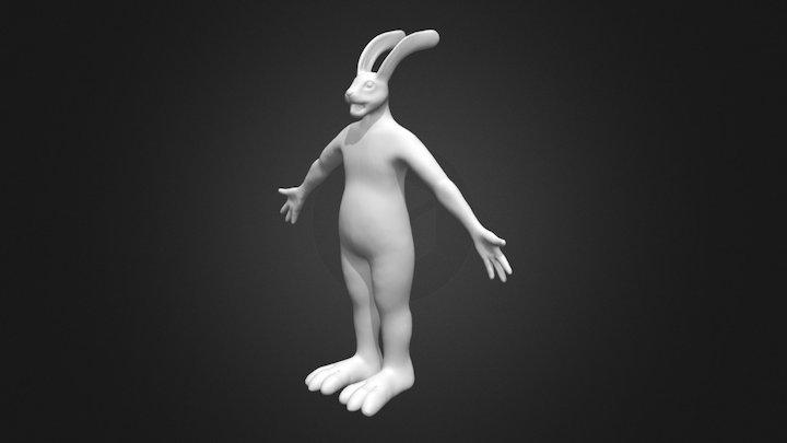Generic Rabbit 3D Model