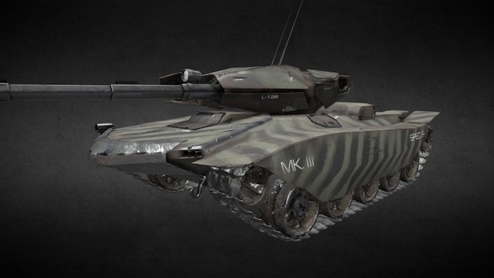 Maxter Mk. III - Rev. 4 3D Model