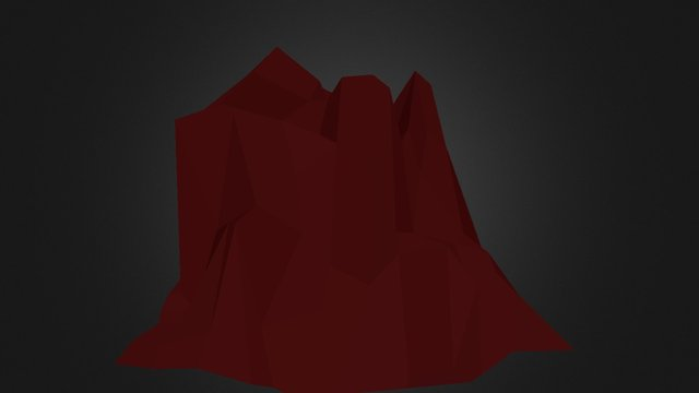 Mountain 002 3D Model