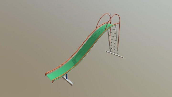 Kids Slide 2 ● Детская горка 3D Model