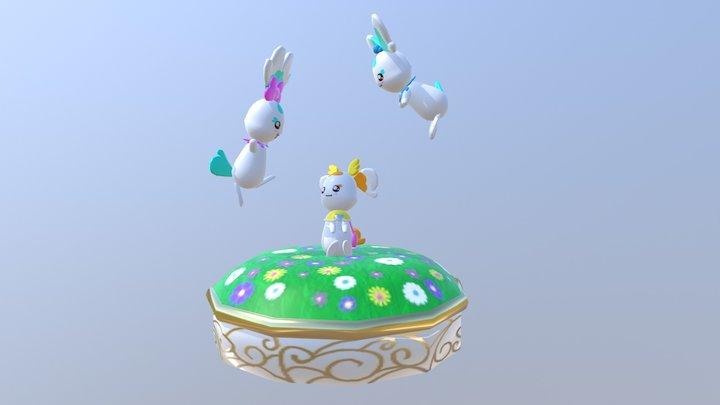 Heartcatch Precure Faeries 3D Model