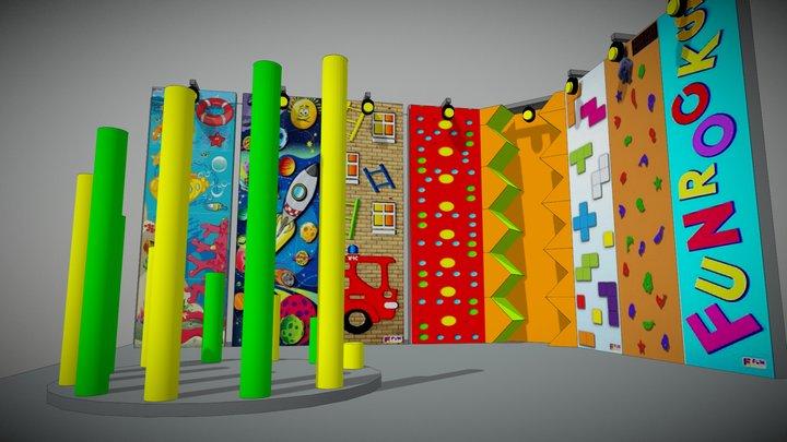 Комплекс Fun Rocks Вариант 1 3D Model