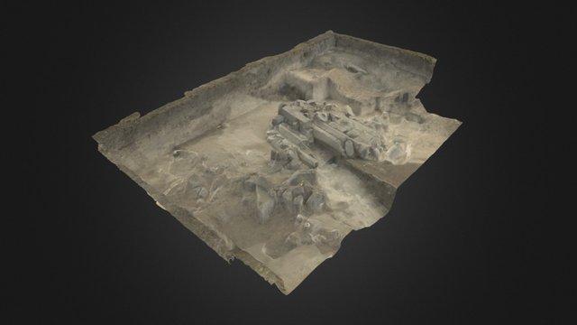 Dzedzvebi, Grave 9 3D Model