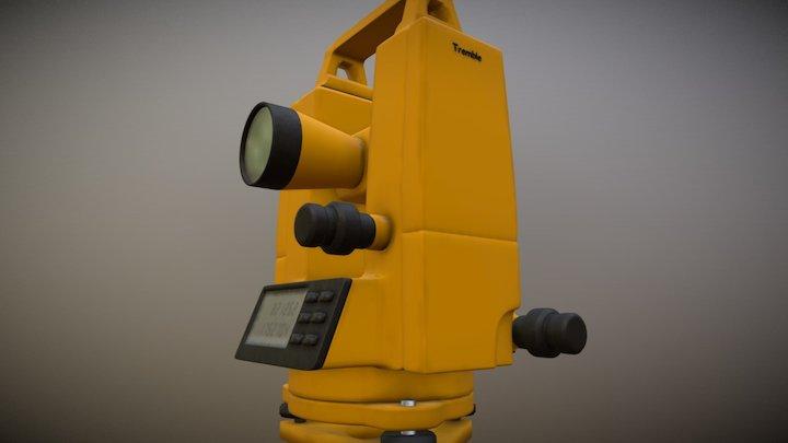Digital Theodolite 3D Model