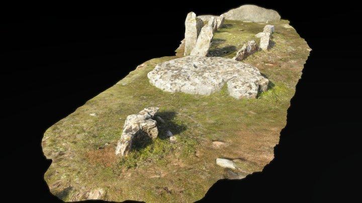 Dolmen de Encinas Borrachas. Alpandeire, Málaga. 3D Model