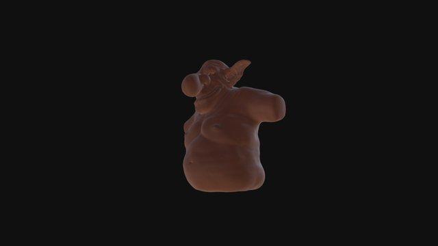 Big Nose 3D 3D Model