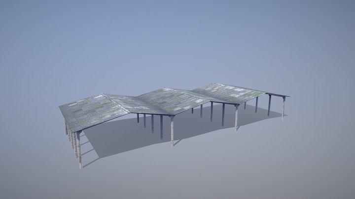 MilitaryBase_PortoVelho_Hangar_02 3D Model