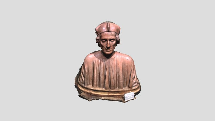 Portrait Bust of a Man - Ringling Museum 3D Model