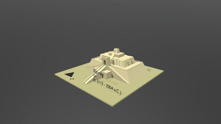 Zigurate - Ur 3D Model