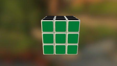 Simple Rubick 3D Model