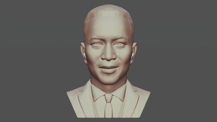 John Legend bust for 3D printing 3D Model