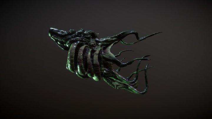 Cthulhu-003 3D Model