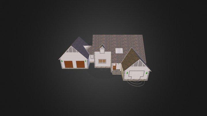 Ettrick House 3D Model
