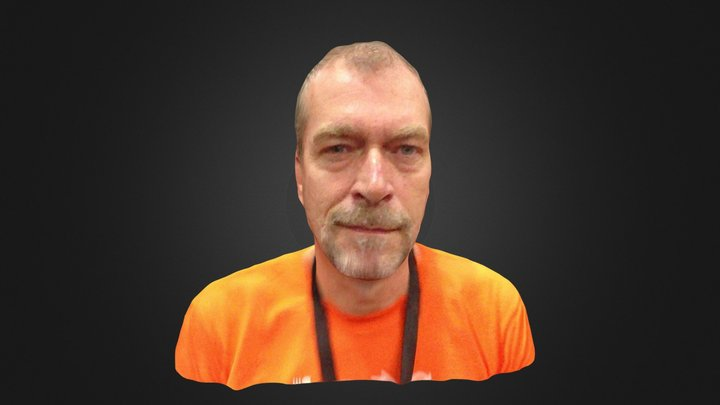 Ton Roosendaal from Blender 3D Model