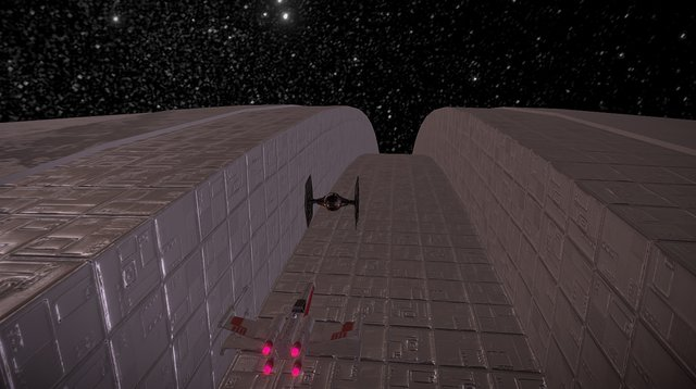 Death Star Trench Run Loop! - 2 3D Model