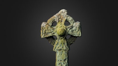Gosforth Cross Colour annotated 3D Model