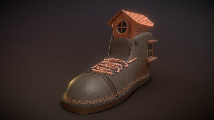 shoe house 3D Model