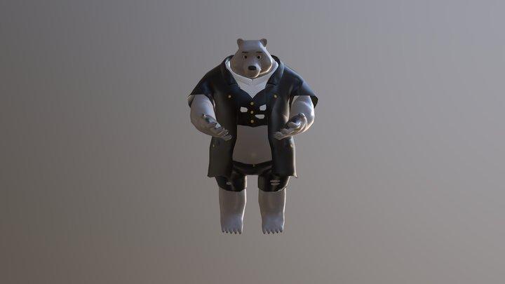 Werebear Low Model 3D Model