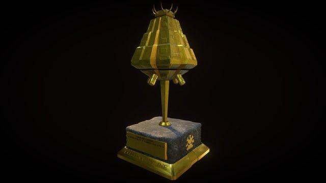 Lustria Online Trophy 3D Model