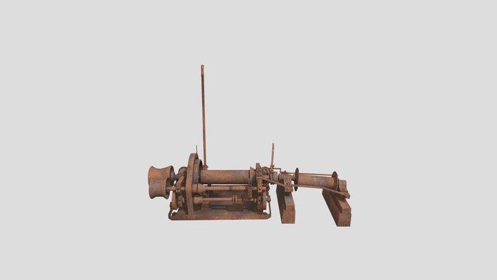 PJDA Treuil 3D Model