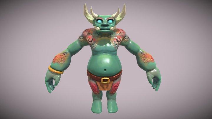 Forest Ogre 3D Model