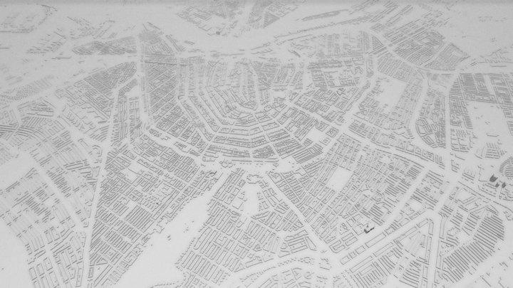 AMSTERDAM CITY 3D 3D Model