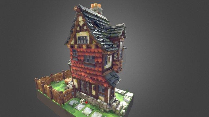 Tudor_House 3D Model