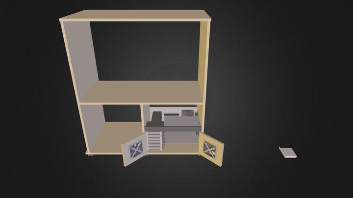 HTPC cabinet 3D Model