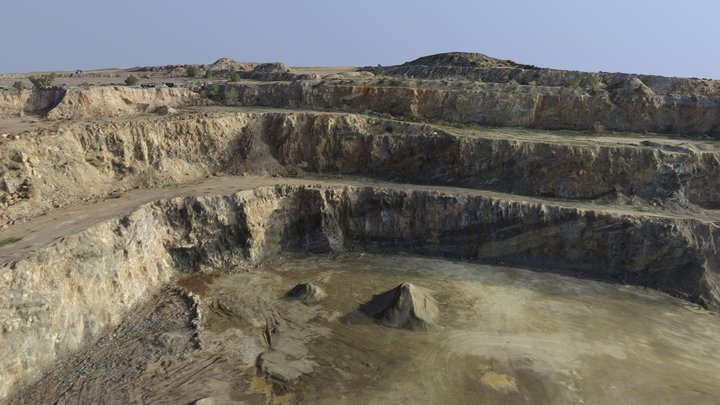 Murray Bridge Quarry 3D Model