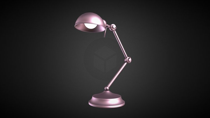 Adjustable Lamp 3D Model