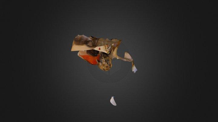 夜室設四 A 林庭羽 80011159(空間) 3D Model